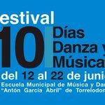 Image for the Tweet beginning: Festival 10 días Danza y