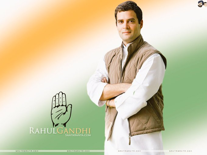 "Happy birthday to you ""Mr. Rahul Gandhi\"" with best wishes by me..."