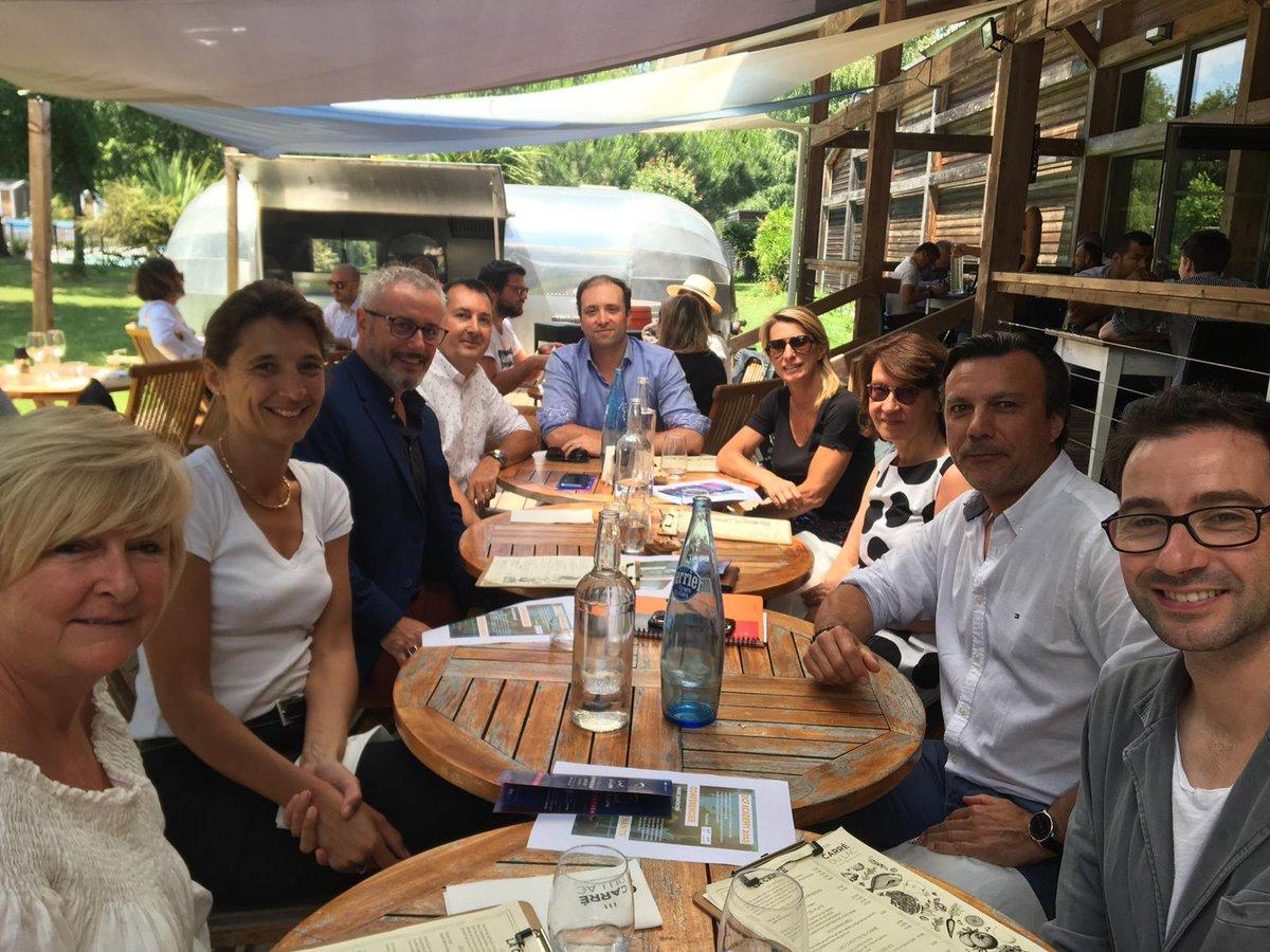 Inter-réseaux : À l'initiative des @DCF_Gironde 1er déjeuner des Présidents de Clubs et Associations Métiers, pour promouvoir et valoriser nos savoir-faire ensemble avec @2AM_Bdx #ArchAtlantic @ClubComConnecte  @DigitAqui @dfcgasso