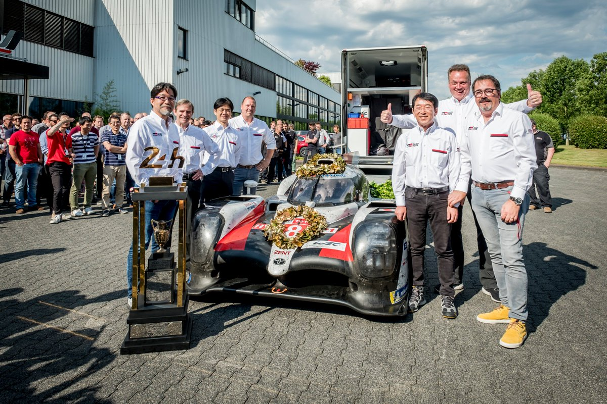 Congratulations for #Lemans24 win #TS050 Hybrid for #garrettmotion turbocharged #toyota #gazooracing