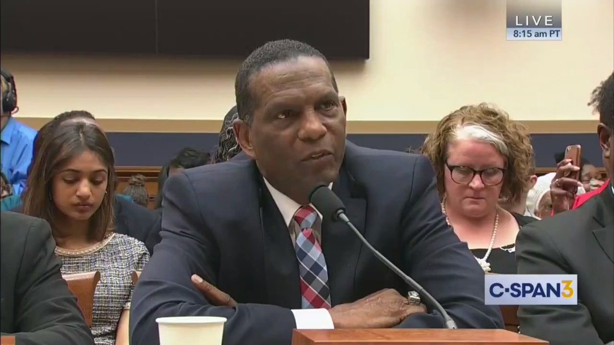 "Wow, Burgess Owens just stunned everyone:  ""I used to be a Democrat until I did my history and found out the misery that that party brought to my race... Let's pay restitution. How about the Democratic Party pay for all the misery brought to my race..."""