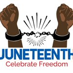 Image for the Tweet beginning: On this Juneteenth, as we