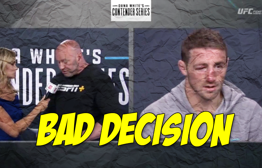Video: It sounds like Dana White doesn't know how to evaluate MMA talent anymore https://middleeasy.com/mma-news/dana-white-evaluate-mma-talent/… via @MiddleEasy #UFC #MMA #DWCS