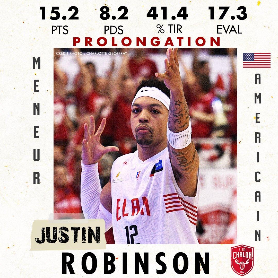 Prolongation 😁💥  Justin ROBINSON @Callmescoop12 prolonge a l'Elan Chalon 🤷🏼♀️🎯 #RougeEtBlanc