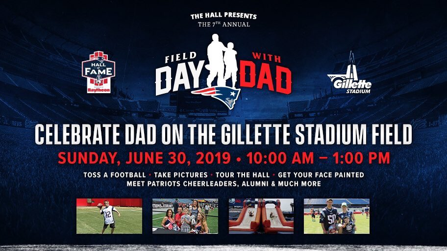 Field Day with Dad returns on 6/30!  Limited tix still available - get yours before they're gone: http://bit.ly/2I4weGn