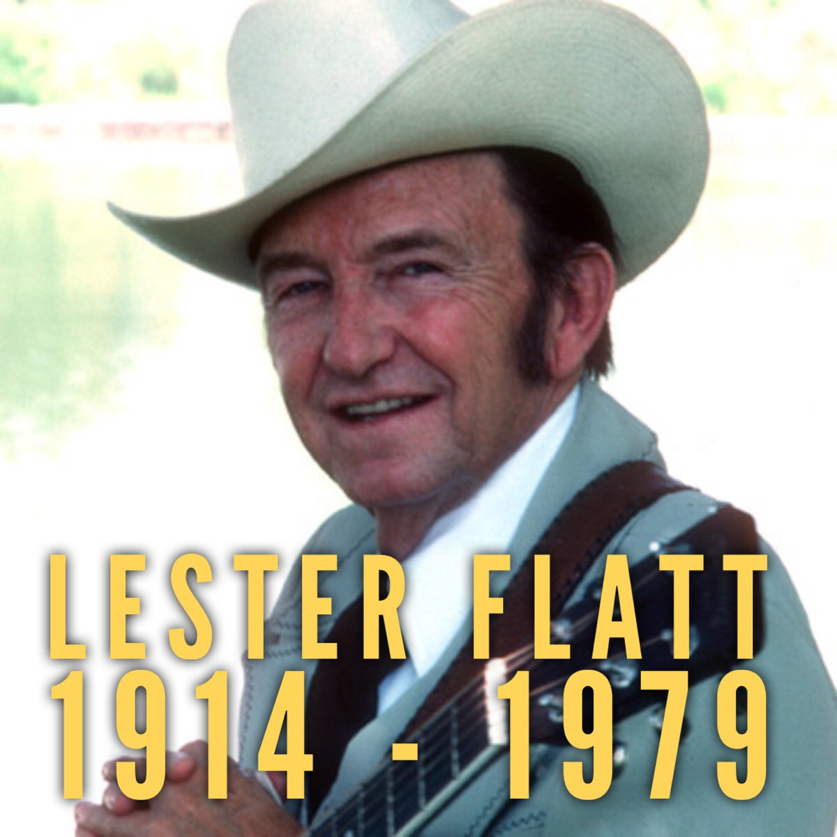 Lester Flatt would have turned 105 today! He inspired all of us to make bluegrass music. What is YOUR favorite recording from this Bluegrass Hall of Famer? #lesterflatt <br>http://pic.twitter.com/l08IZMo2mv