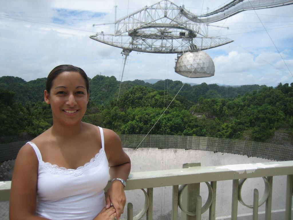 """""""If you have a passion for anything, whether its astronomy or some other subject, never give up that passion."""" Knicole Colon used to watch meteor showers w/ her dad. Now she is an astrophysicist for @NASAGoddard, having worked on @NASAHubble & @NASA_TESS: go.nasa.gov/2MWu5SM"""