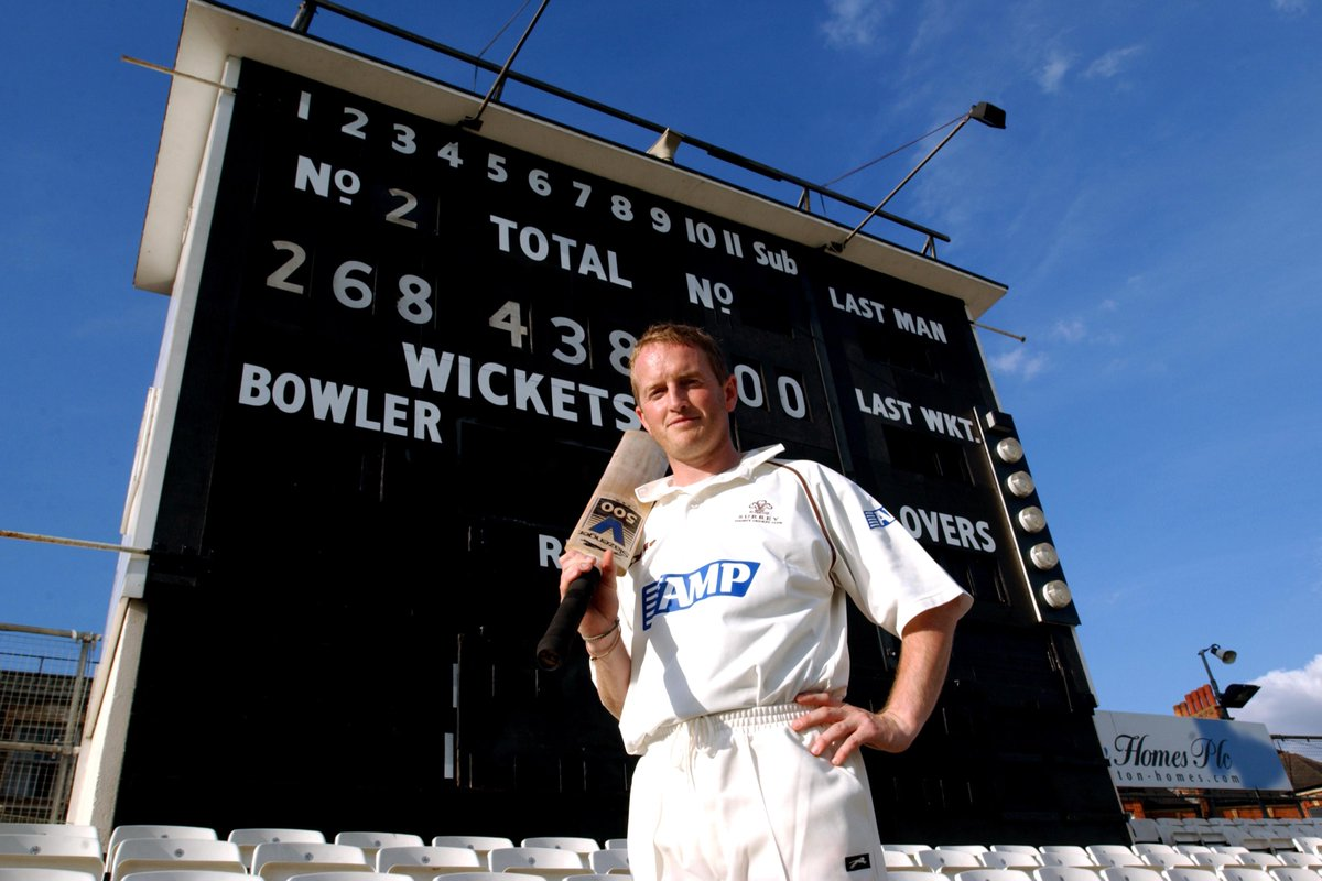 """ESPNcricinfo on Twitter: """"160 balls 30 fours 12 sixes 2️⃣6️⃣8️⃣ runs 😲 #OnThisDay in 2002, Surrey's Ali Brown hit the highest individual score in List A history against Glamorgan at The Oval!"""