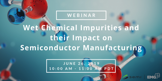test Twitter Media - Be sure to sign up for @SEMI_mktstats's  Electronic Materials Group (EMG) Webinar later this month discussing 'Wet Chemical Impurities and their Impact on Semiconductor Manufacturing.  To learn more click here: https://t.co/uCiFOjTtv1 https://t.co/KJivmJv4Vu