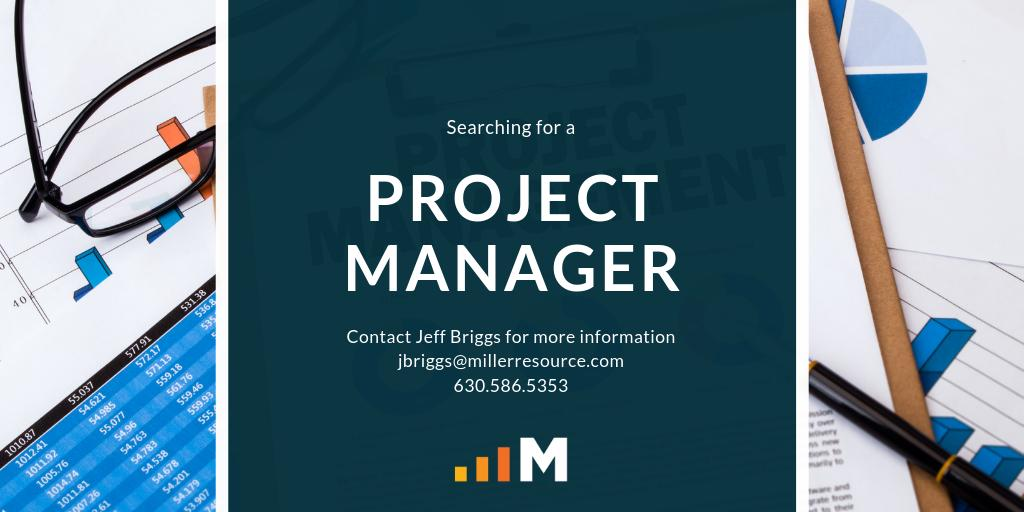 JOB ALERT:  Searching for a Project Manager for a top-ranked systems integrator. Industries include water/waste-water, chemical, life sciences, and manufacturing #wastewater #chemical #lifesciences #jobopportunity #millerisms #jobopening