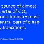 Image for the Tweet beginning: CCUS is one of the