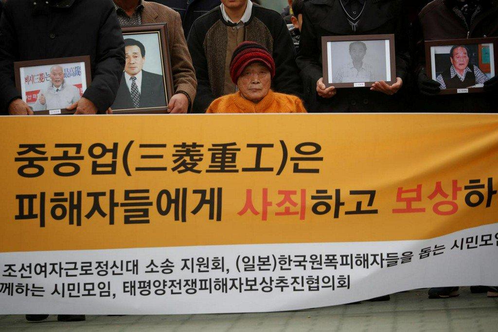 Japan rejects Korean fund plan to compensate forced wartime labor http://www.reuters.com/article/us-southkorea-japan-forcedlabour-idUSKCN1TK149?utm_campaign=trueAnthem%3A+Trending+Content&utm_content=5d0a22c0b1a3150001dd93f9&utm_medium=trueAnthem&utm_source=twitter…
