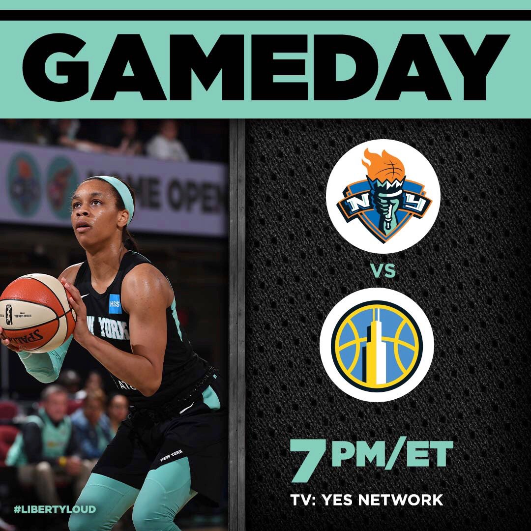 Back on home court! 🗽   🎟 http://www.ticketmaster.com/nyliberty