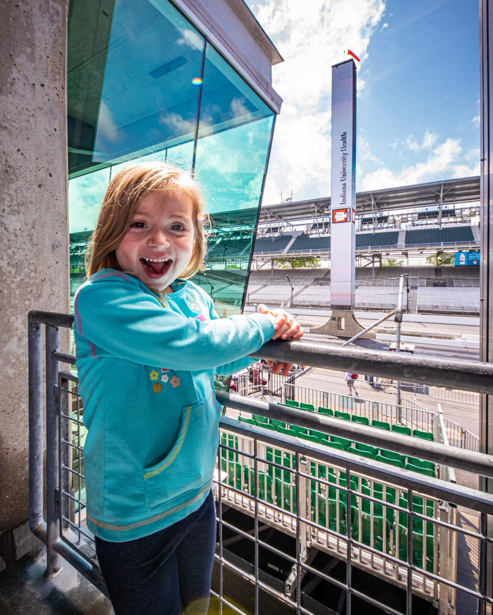 Fill in the Blank: I attended my first event at #IMS when I was ____ years old.