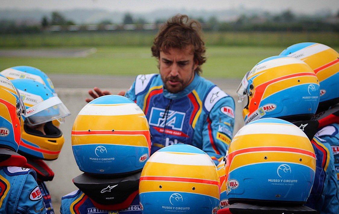 Karting Campus at @CircuitoMuseoFA  👍 #karting #talents