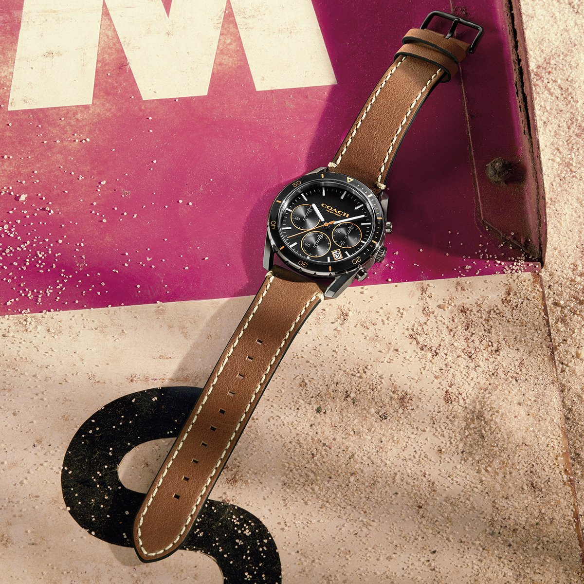 Happy #NationalWatchDay. Discover our watches collection: http://on.coach.com/MenWatches