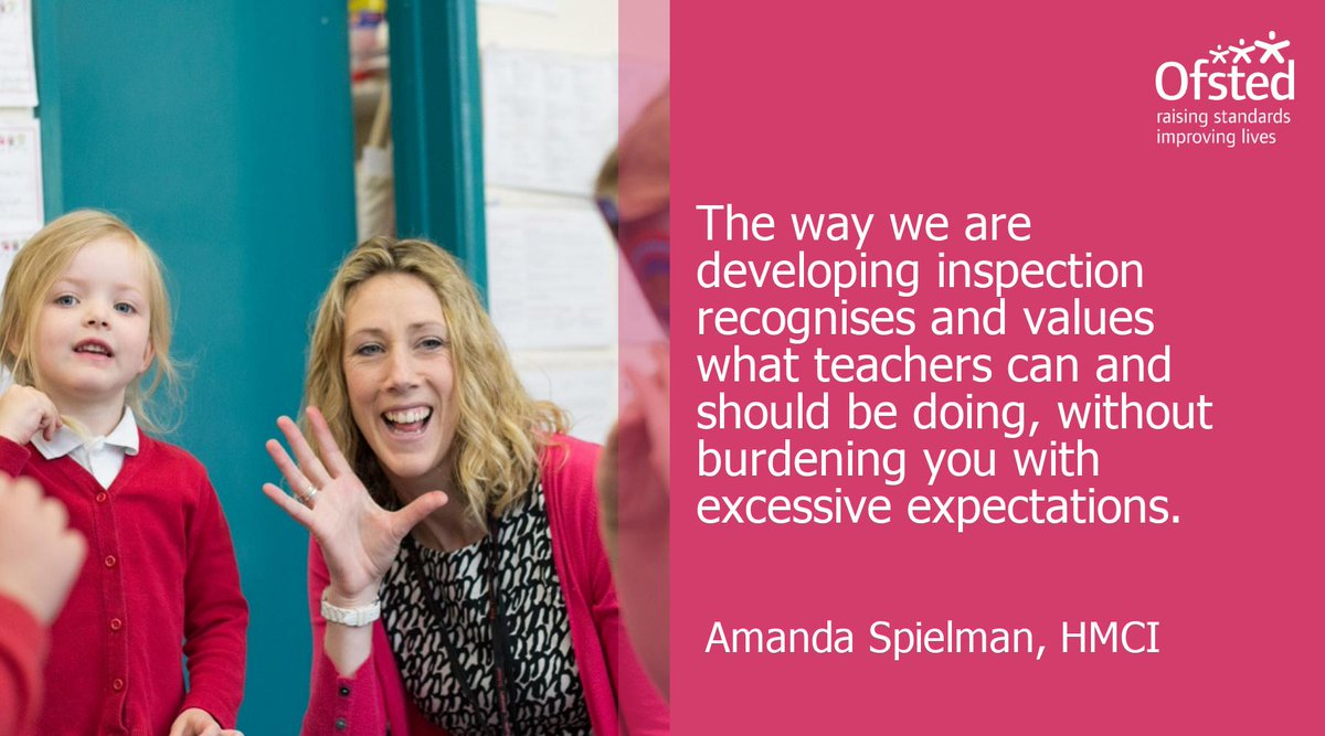 RT @Ofstednews: We want to add to the voices saying 'thank you' to teachers. Your work is so valuable #ThankATeacher https://t.co/S8E75mmBEJ