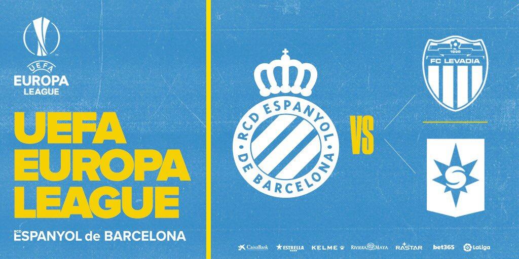 El emparejamiento del Espanyol, uno de entre los sorteados este miércoles.