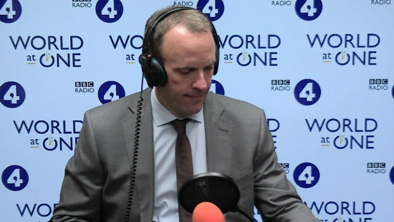 "Conservative MP @DominicRaab tells @BBCWorldatone #bbcwato that @BorisJohnson is 100 % committed to leaving the EU on 31st October ""and he has confirmed that to me ""."