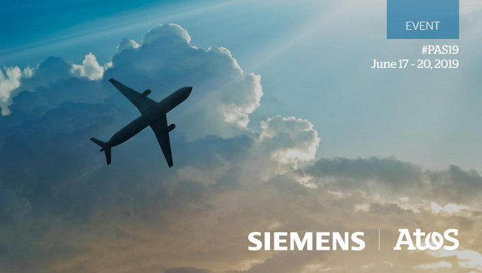 Together Atos and @Siemens are very excited to be part of the 53rd International #ParisAirShow!...