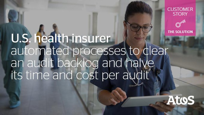 #Healthcare payer cleared a backlog of 51,000 Medicare audits in 3 months by...