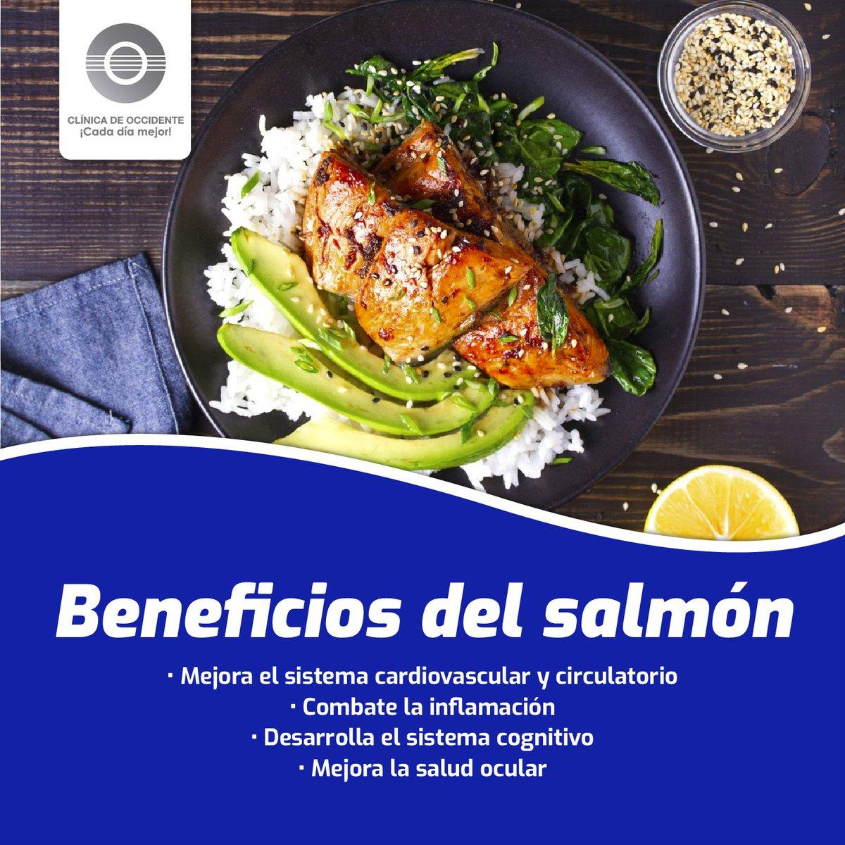 El salmón es un alimento muy nutritivo y saludable, rico en proteínas y ácidos grasos que ayudan a tu cuerpo, además que es una excelente fuente de vitaminas como la B12, B6 y la niacina. Aliméntate rico y saludablemente. #CDO #CadaDíaMejor #Nutrición #Bienestar #FelizLunes