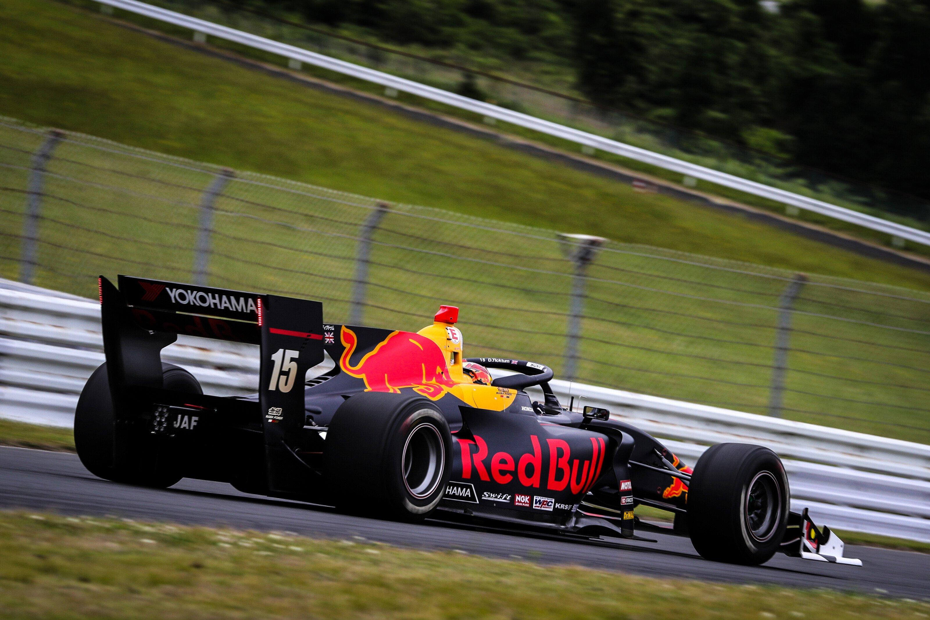 Lineup DAMS 2020 Dan Ticktum Super Formula 2019