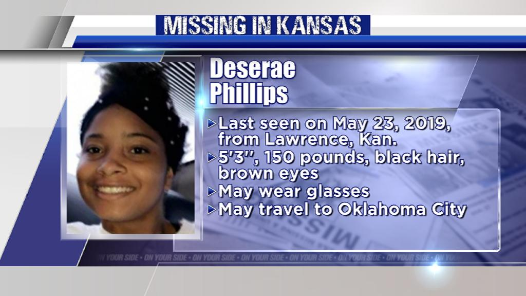 Please, RT.  Missing for nearly 1 month, Teen Deserae Phillips was last seen in NE Kansas. Let's help bring her home safe.   http:// bit.ly/2Fhjz2s       #MissingInKS #KAKENews #MissingPerson   @GovLauraKelly @ksgovernment @LtGovRogers<br>http://pic.twitter.com/O0JQeKqYwM