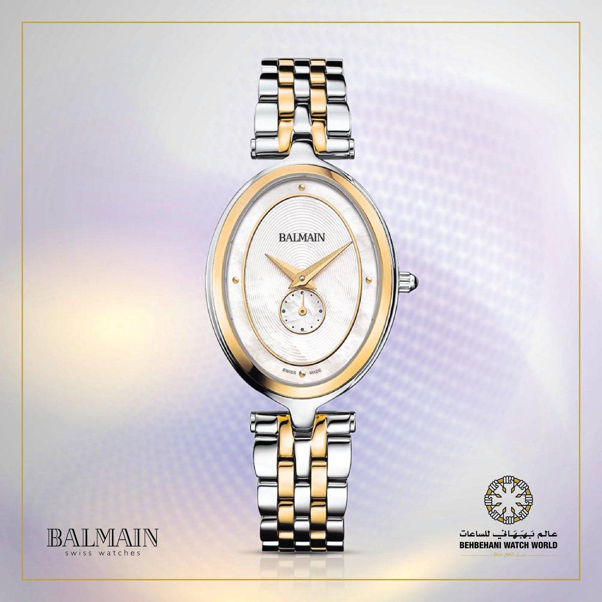 9babb1b4d #Balmain #balmainwatch #SwissMade #Kuwait #BehbehaniWatchWorld #Watch  #Ladiespic.twitter.com/lzMKWbFEo3
