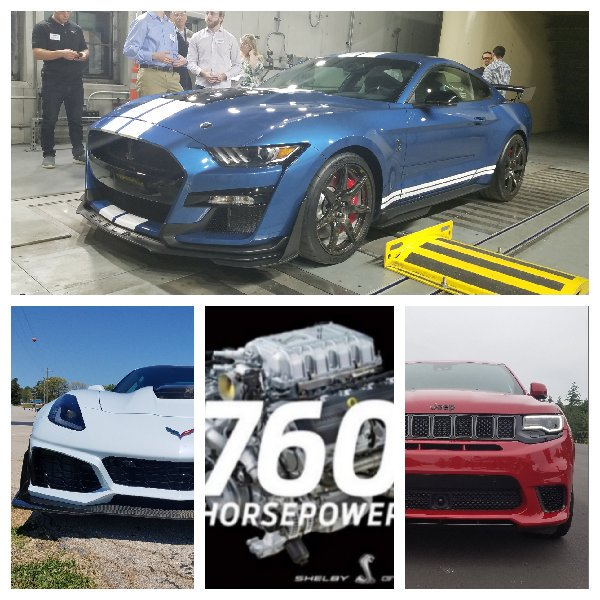 700 Club: 760hp @Ford Mustang GT500 supercharged V8 joins @Dodge Hellcat, @Jeep Trackhawk @Corvettw ZR1. @DetroitNews