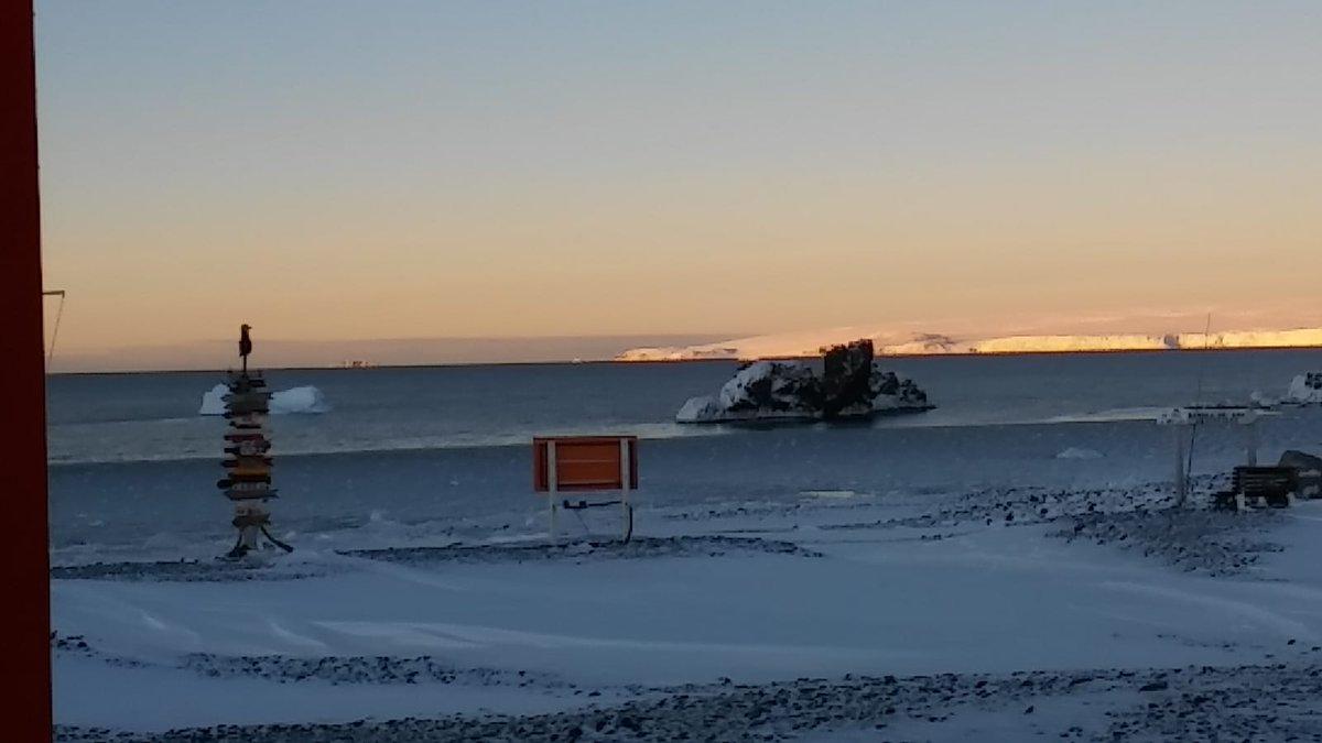 Winter is coming  #BaseArtigas #Antártida #Antarctica #Artigas