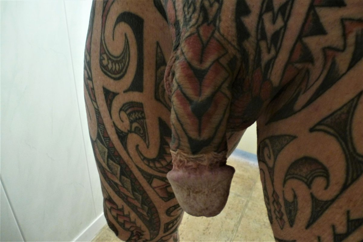 Tattoo on a penis