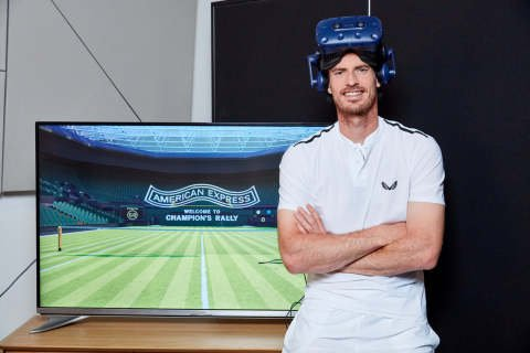 Guess who's starrging in American Express' on-site activation for Wimbledon fans?  https:// hubs.ly/H0jp2L70     #tennis #experiential #wimbledon #andymurray #marketing<br>http://pic.twitter.com/r9dfNAaVDY