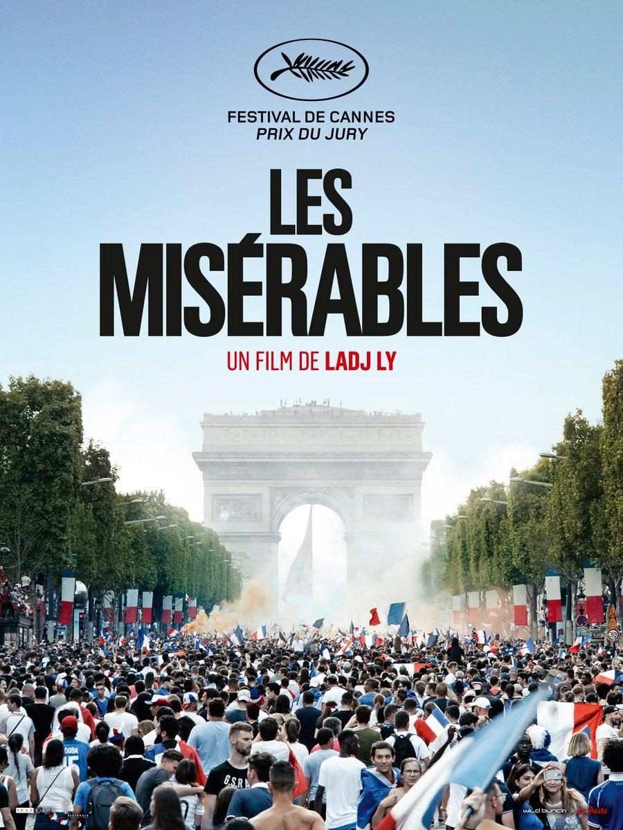 Teaser poster for Ladj Ly's LES MISÉRABLES, winner of the @Festival_Cannes's Jury Prize https://cineuropa.org/en/film/371047/
