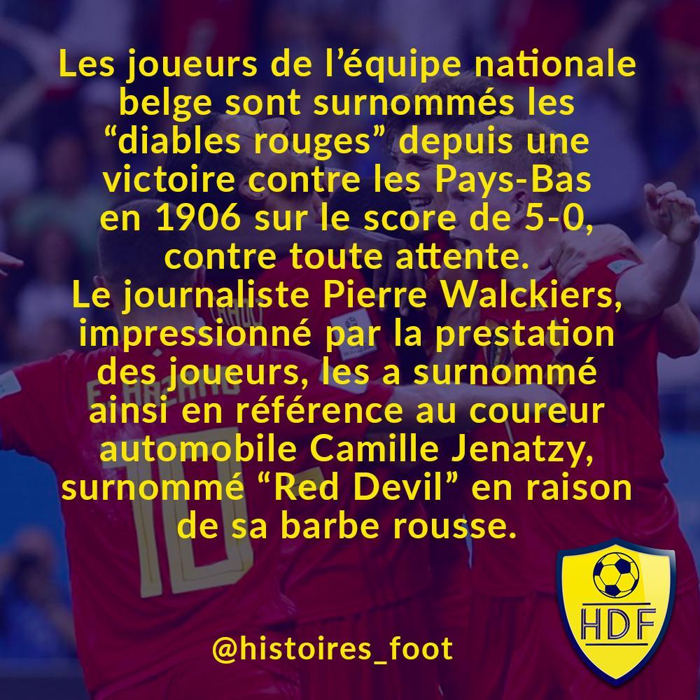 Pour la petite histoire, Camille Jenatzy est le premier coureur automobile à avoir dépassé les 100 km/h ! #DiablesRouges #RedDevils #Belgique #Hazard #Lukaku #DeBruyne #Courtois #Football