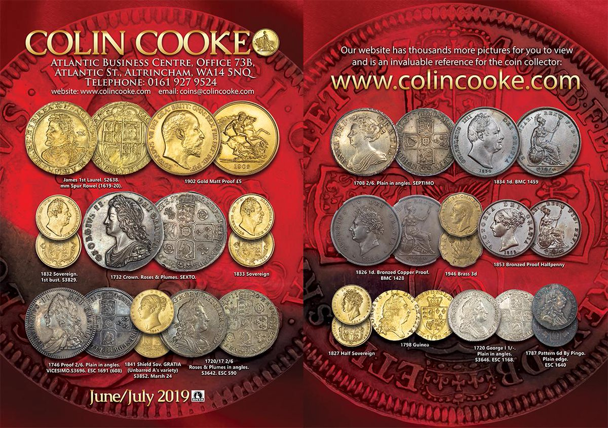 Colin Cooke Coins (@colincookecoins) | Twitter