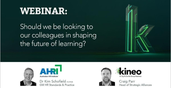 WEBINAR FILLING FAST! Wed, 26th June @ 12:00pm AEST - hubs.ly/H0jpblX0 @AHRItweets & Kineo discuss new and evolving corporate training trends, the future of employee training and key lessons we could learn from disciplines outside of people & development? #futureofwork