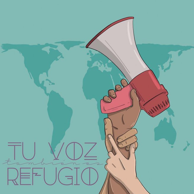 "#Spain - ""Your voice is also a #refuge"": to foster a #culture of #hospitality https://t.co/YgyfJxVIVq https://t.co/b3RTOqsi5i"