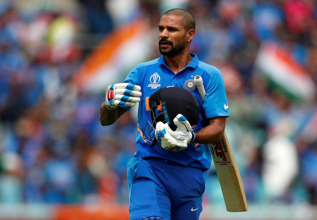 India's Dhawan ruled out of World Cup with fractured thumb https://reut.rs/2MXpFuS