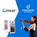 Image for the Tweet beginning: Thanks to @ONVIF, the #Concerto