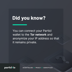 Image for the Tweet beginning: Run your Particl wallet as