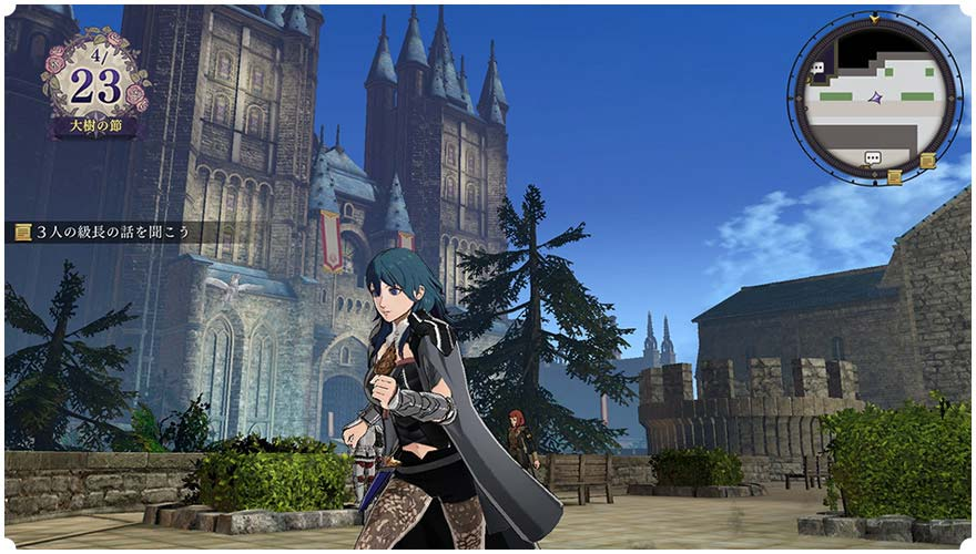 More things you can do in FE3H Strolling mode: -Give the correct presents to chars, improving their supports w/ you (& also motivation for your students) -Find dropped items & give them to the correct owners. These items have descriptions that give clue of the owners. <br>http://pic.twitter.com/eAnb6b4mg5