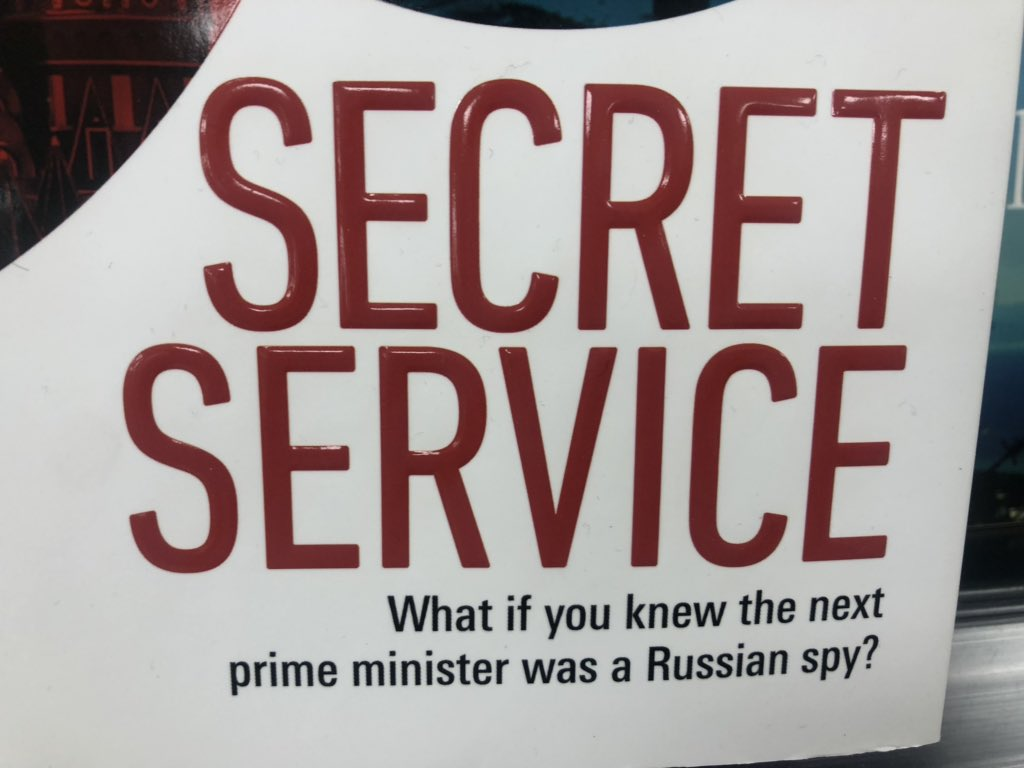 So everyone is getting excited about @RoryStewartUK having potentially been an MI6 spy. I think it now time to ask the question what is he is a double agent... spotted in the books section of my local supermarket!