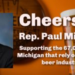 Image for the Tweet beginning: Thanks @RepPaulMitchell for sponsoring the