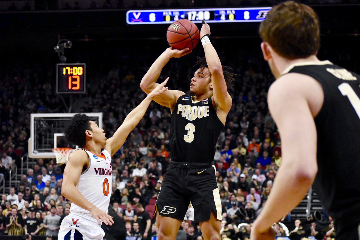 Selfish me wants Carsen Edwards to drop to the second round to the Bulls. I really do hope he goes to a contender with a need though and makes an immediate impact. Best of luck to the dude that was always good to me. #Purdue #BoilerUp #NBADraft
