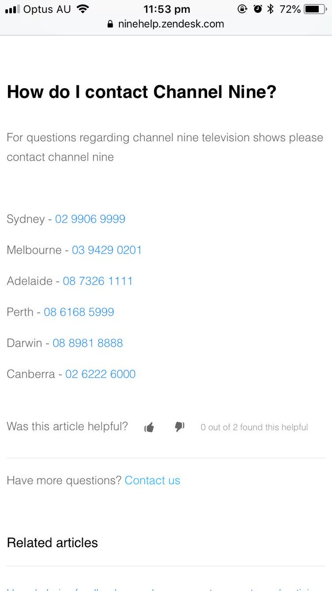 if someone wants to contact @Channel9 themselves here are the phone numbers. we need to have them understand that their actions are not acceptable nor ignorable #Channel9Apologize