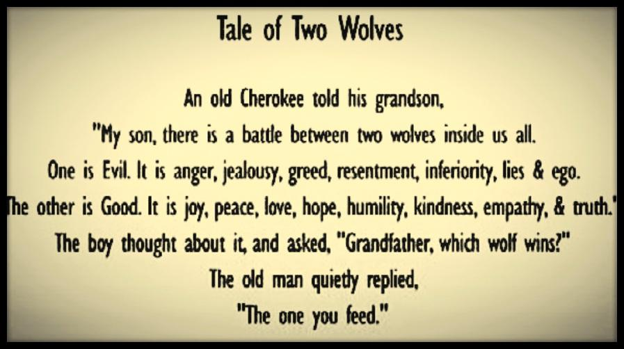 ...the one you feed...  #WednesdayWisdom #quote<br>http://pic.twitter.com/FFCz7BDdfF