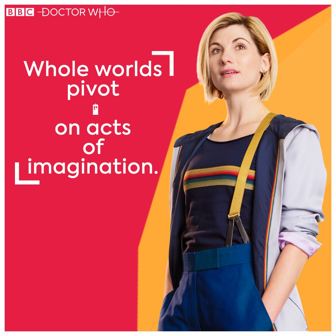 """Imagine the solution and work to make it a reality."" #WednesdayWisdom #DoctorWho<br>http://pic.twitter.com/vJOJqvN2SD"