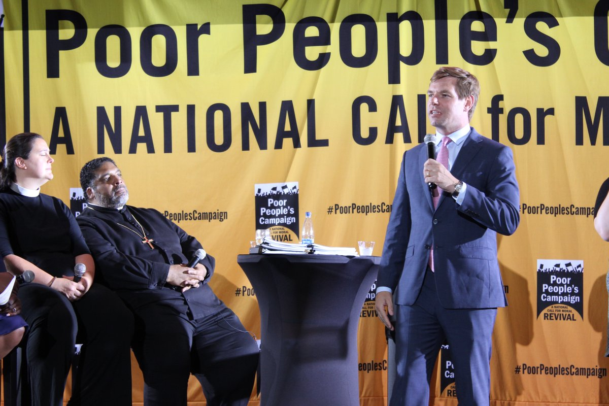 At Monday's Poor People's Campaign, I spoke about how being poor is not immoral. What is immoral though, is that we live in the wealthiest country on earth but don't provide health care to every person. What is immoral is public policy that harms people rather than helps them.