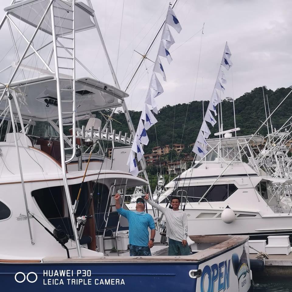 Los Suenos, CR - Open Fly released 20 Sailfish.